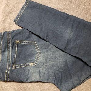 Maurices Dark wash Plus skinny jean